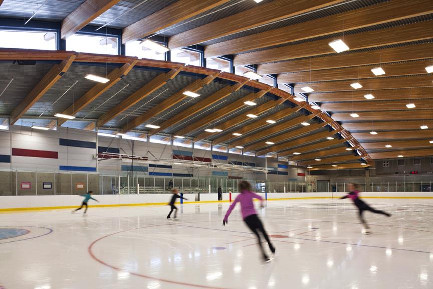 Ice Arena - Interoir